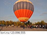 Запуск воздушного шара (2016 год). Редакционное фото, фотограф Светлана Пирожук / Фотобанк Лори