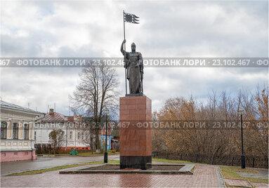 Городец на Волге. Памятник Александру Невскому