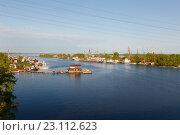 Купить «Устье реки Самарка», фото № 23112623, снято 11 мая 2016 г. (c) Акиньшин Владимир / Фотобанк Лори