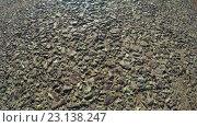 Купить «Поверхность дороги», видеоролик № 23138247, снято 10 апреля 2015 г. (c) Потийко Сергей / Фотобанк Лори