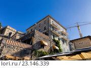 Купить «Живописные дома Сан-Марино. Италия», фото № 23146339, снято 6 ноября 2013 г. (c) Евгений Ткачёв / Фотобанк Лори