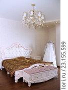 Спальня невесты. Стоковое фото, фотограф Оксана Дудкина / Фотобанк Лори