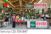 Купить «Chinatown food court, Kuala Lumpur», фото № 23159847, снято 15 июня 2016 г. (c) Александр Подшивалов / Фотобанк Лори