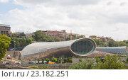 Купить «Вид на  концертный зал в парке Рике в Тбилиси.Грузия», фото № 23182251, снято 8 августа 2013 г. (c) Олег Хархан / Фотобанк Лори