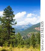 Купить «Summer mountains landscape», фото № 23182635, снято 17 октября 2018 г. (c) Яков Филимонов / Фотобанк Лори