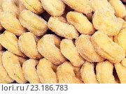 Купить «sugared donuts texture», фото № 23186783, снято 7 февраля 2015 г. (c) Syda Productions / Фотобанк Лори