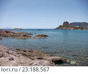 Часовня Святого Николая на острове Кастри в Эгейском море. Стоковое фото, фотограф Дмитрий Наумов / Фотобанк Лори