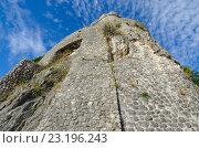 Морская крепость (Forte Mare), Херцег-Нови, Черногория (2015 год). Стоковое фото, фотограф Ольга Коцюба / Фотобанк Лори