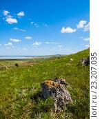 Купить «Природа вблизи озера Чокрак», фото № 23207035, снято 12 июля 2015 г. (c) Светлана Овчинникова / Фотобанк Лори