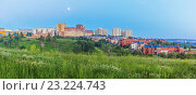 Купить «Нижний Новгород. Спальный микрорайон», фото № 23224743, снято 18 июня 2016 г. (c) Дмитрий Тищенко / Фотобанк Лори
