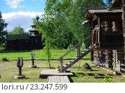 Купить «Музей деревянного зодчества в Костроме - Костромская слобода», фото № 23247599, снято 5 июля 2016 г. (c) Natalya Sidorova / Фотобанк Лори