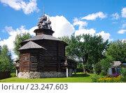 Купить «Музей деревянного зодчества в Костроме - Костромская слобода», фото № 23247603, снято 10 июля 2016 г. (c) Natalya Sidorova / Фотобанк Лори