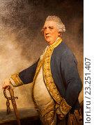 Купить «England, London, Greenwich, National Maritime Museum, Painting of Admiral Augustus Keppel by Sir Joshua Reynolds dated 1779», фото № 23251407, снято 11 июля 2016 г. (c) age Fotostock / Фотобанк Лори