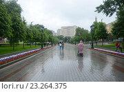 Купить «Москва, Александровский сад», фото № 23264375, снято 11 июня 2016 г. (c) Галина  Горбунова / Фотобанк Лори