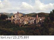 Средневековый город, Италия (2013 год). Стоковое фото, фотограф Закирова Наталья / Фотобанк Лори