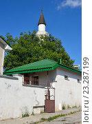 Купить «Мечеть Кебир-Джами в Симферополе. Культовое сооружение, 1508 г.», фото № 23287199, снято 17 сентября 2019 г. (c) Овчинникова Ирина / Фотобанк Лори