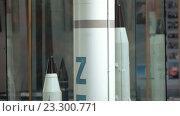 Купить «Модель базового двухступенчатого ракета-носителя среднего класса Зенит», видеоролик № 23300771, снято 19 марта 2019 г. (c) Потийко Сергей / Фотобанк Лори