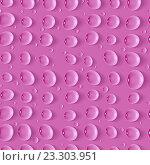 Купить «Бесшовный пурпурный фон с каплями воды», иллюстрация № 23303951 (c) Шильникова Дарья / Фотобанк Лори