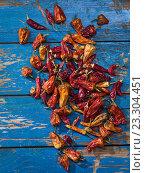 Купить «Red dry pepper», фото № 23304451, снято 24 июля 2016 г. (c) Кравецкий Геннадий / Фотобанк Лори