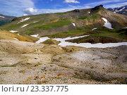 Вулканический ландшафт  в районе вулкана Мутновский. Стоковое фото, фотограф Валерий Трубицын / Фотобанк Лори