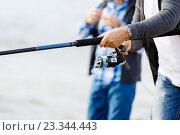 Picture of fisherman, фото № 23344443, снято 8 апреля 2015 г. (c) Sergey Nivens / Фотобанк Лори