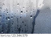 Купить «Капли воды на стекле», фото № 23344579, снято 28 октября 2007 г. (c) Dina / Фотобанк Лори