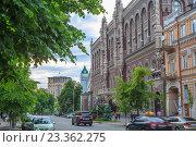 Здание Национального банка Украины,Киев (2016 год). Редакционное фото, фотограф Станислав Мороз / Фотобанк Лори