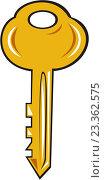 Купить «Золотой ключ», иллюстрация № 23362575 (c) Aloysius Patrimonio / Фотобанк Лори