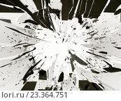 Купить «Осколки зеркала, фон», фото № 23364751, снято 14 декабря 2018 г. (c) Арсений Герасименко / Фотобанк Лори
