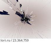 Купить «Разбитое стекло», фото № 23364759, снято 22 мая 2019 г. (c) Арсений Герасименко / Фотобанк Лори