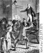 "Купить «Henry ""Orator"" Hunt (1773 â. "" 1835) the British radical speaker and agitator addressing people in Manchester. A pioneer of working-class radicalism and...», фото № 23377071, снято 18 июля 2016 г. (c) age Fotostock / Фотобанк Лори"