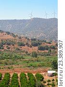 Купить «Сельский пейзаж на Кипре», фото № 23389907, снято 19 июня 2012 г. (c) Евгений Дробжев / Фотобанк Лори