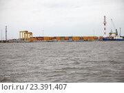 КРОНШТАДТ, Россия, 13 августа - 2016: портовый комплекс Моби Дик. Редакционное фото, фотограф Дмитрий Наумов / Фотобанк Лори