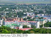 Крым, город Керчь летом. Вид с горы Митридат. Редакционное фото, фотограф Овчинникова Ирина / Фотобанк Лори