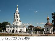 Купить «Богоявленский собор в городе Орле», фото № 23398499, снято 5 августа 2016 г. (c) Александр Плахов / Фотобанк Лори