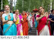 Москва, Россия. 14 августа 2016 г. День Индии в парке «Сокольники» Редакционное фото, фотограф Galina Barbieri / Фотобанк Лори