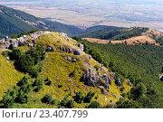 Горы Болгарии на перевале Шипка (2011 год). Стоковое фото, фотограф Людмила Герасимова / Фотобанк Лори