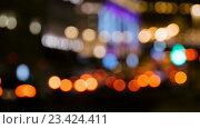 Купить «Абстрактные огни движутся в ночи», видеоролик № 23424411, снято 18 августа 2016 г. (c) Игорь Усачев / Фотобанк Лори