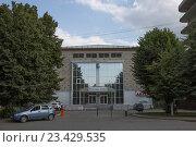 Купить «Владикавказ. Станция переливания крови», фото № 23429535, снято 9 августа 2016 г. (c) Андрей Багаев / Фотобанк Лори