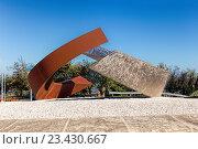 Купить «Монумент в центре Сан-Марино», фото № 23430667, снято 6 ноября 2015 г. (c) Евгений Ткачёв / Фотобанк Лори