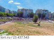 Купить «Греческая агора и Римский форум, Салоники», фото № 23437543, снято 1 июня 2009 г. (c) Ростислав Агеев / Фотобанк Лори