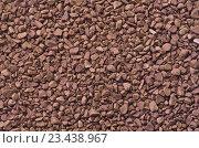 Гранулы кофе как фон. Макросъёмка гранулированного быстрорастворимого кофе. Стоковое фото, фотограф Светлана Пасечная / Фотобанк Лори