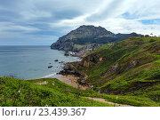 Купить «San Julian Beach, Spain.», фото № 23439367, снято 8 мая 2016 г. (c) Юрий Брыкайло / Фотобанк Лори