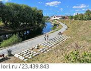 Купить «Памятник клавиатуре в Екатеринбурге», фото № 23439843, снято 5 октября 2005 г. (c) Михаил Марковский / Фотобанк Лори