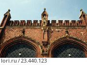 Купить «Фридландские ворота в Калининграде», эксклюзивное фото № 23440123, снято 5 июля 2015 г. (c) stargal / Фотобанк Лори