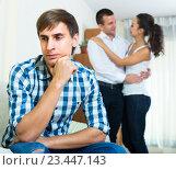 Problems of love triangle. Стоковое фото, фотограф Яков Филимонов / Фотобанк Лори