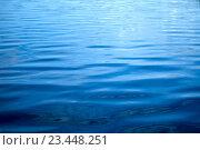 Купить «Water surface as a background», фото № 23448251, снято 2 июня 2016 г. (c) Татьяна Белова / Фотобанк Лори