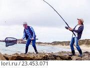 Picture of fisherman, фото № 23453071, снято 8 апреля 2015 г. (c) Sergey Nivens / Фотобанк Лори