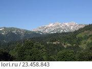 Горы на Северном Кавказе, Адыгея. Стоковое фото, фотограф Сергей Тихомиров / Фотобанк Лори