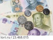 Купить «Китайский юань», эксклюзивное фото № 23468015, снято 3 сентября 2016 г. (c) Яна Королёва / Фотобанк Лори